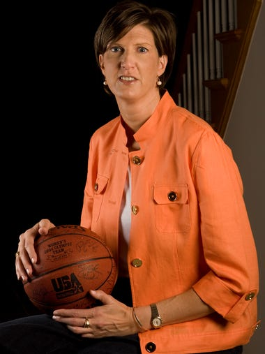Anne Donovan, who starred as a player and coached at