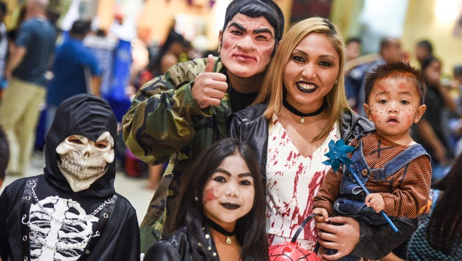 "The rainy weather was not a factor for trick-or-treaters of all ages during the indoor ""Spooktacular Halloween at the Center"" event at the Agana Shopping Center on Monday, Oct. 31."