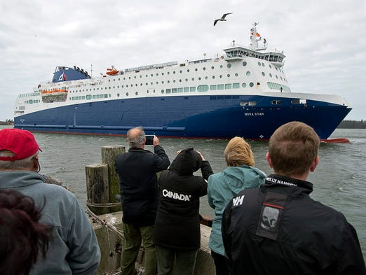 The new passenger and vehicle ferry Nova Star began service between Portland, Maine, and Yarmouth, Nova Scotia, in May. It's the first ferry to service the route in four years.