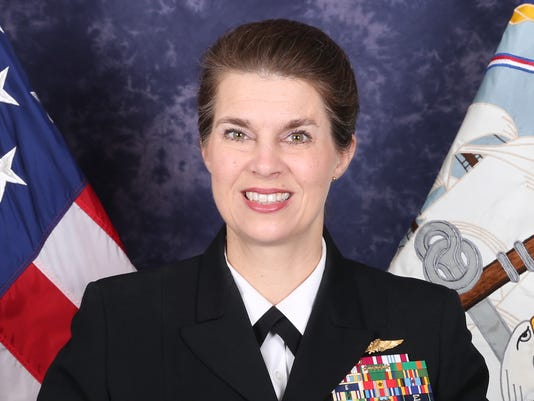 Rear Adm. (select) Kristen Fabry