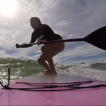 #TryThis: SUP Surfing
