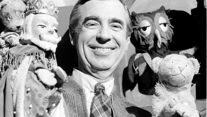 Mr. Rogers in 1984. Credit: Associated Press