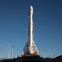 SpaceX Falcon 9 rocket launches, lands in California