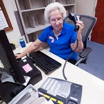 Pensacola resident Barbara Herrmann, 78, has spent most of her adult life, as an America Red Cross volunteer. For 47-years, Herrmann has been a fixture in the orthopedics department at Pensacola Naval Hospital.