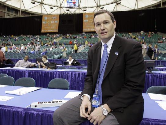 Kentucky athletic director Mitch Barnhart