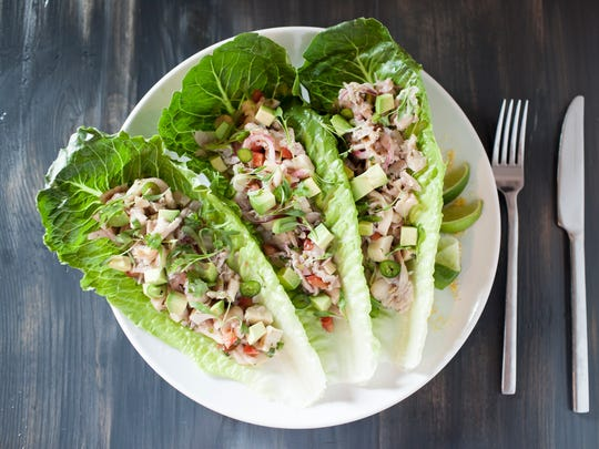 If you'd like an appetizer, try the ceviche tacos,