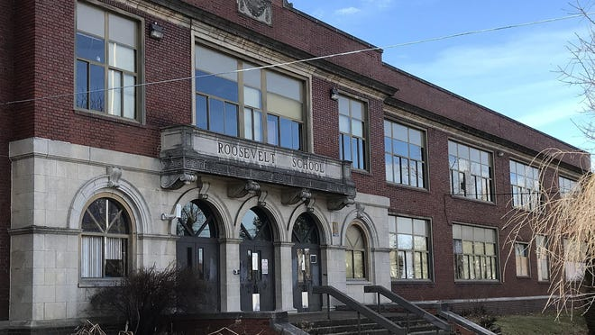 The Erie School District in 2007 closed Roosevelt Middle School, at 2300 Cranberry St., shown here in February. The building is scheduled to be demolished in September.