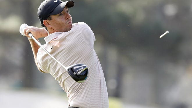 Rory McIlroy rebounded from a poor first round