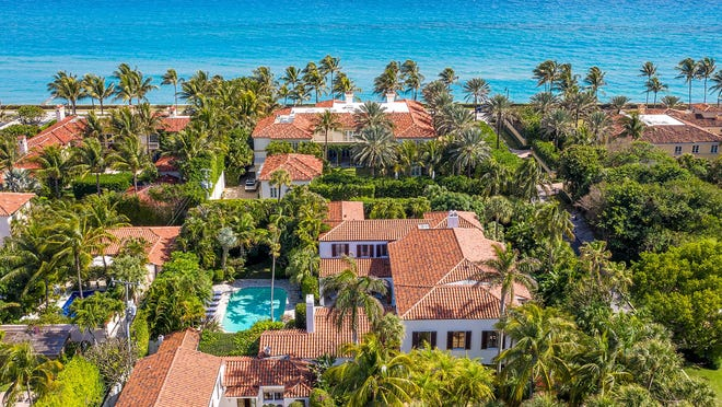 With a swimming pool in the back yard, a landmarked Cuban Colonial-style house built in 1928 at 135 El Vedado Road in Palm Beach has sold for $12.229 million after being listed at $16 million, according to the local mutiple listing service.