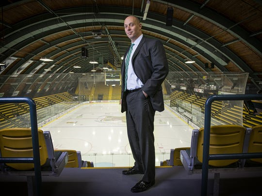 Jeff Schulman was named the next UVM athletic director earlier this spring.