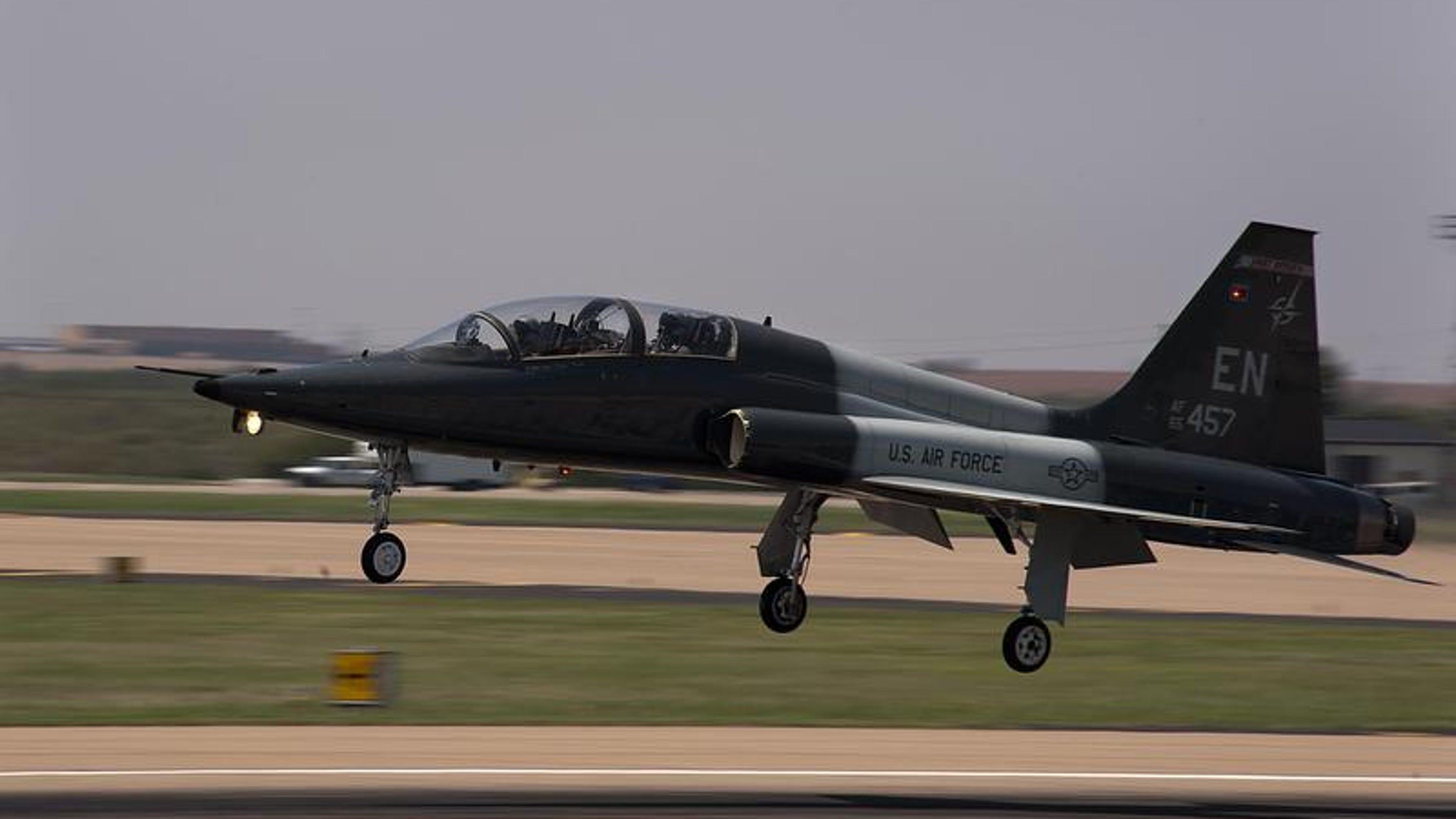 Laughlin Air Force Base jet crashes in Texas  Laughlin Air Fo...