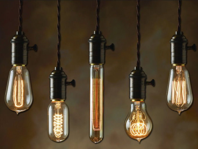 Edison bulbs will continue to be popular in 2017.