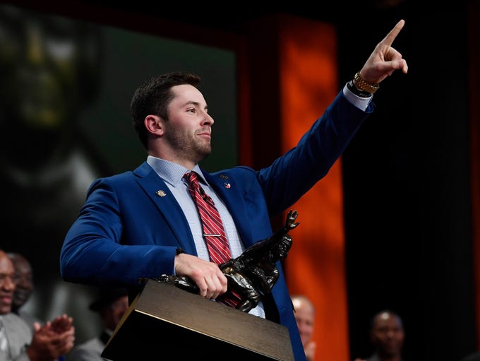 2017: Baker Mayfield, University of Oklahoma.