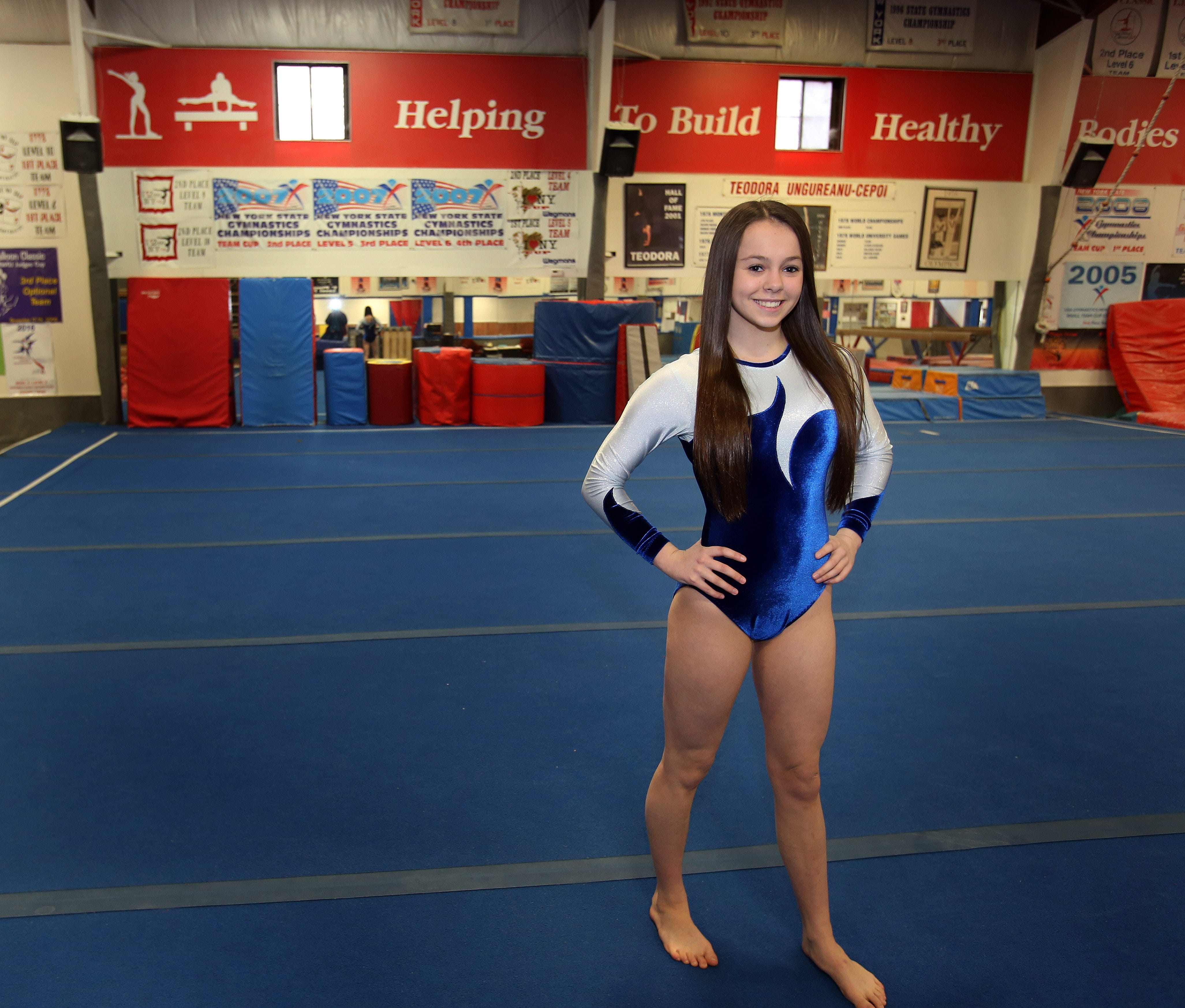 gymnastic junior Mahopac junior Callie Johanson is the Journal News/lohud co-gymnast of the  year
