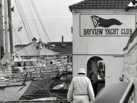 Bayview Yacht Club in 1975