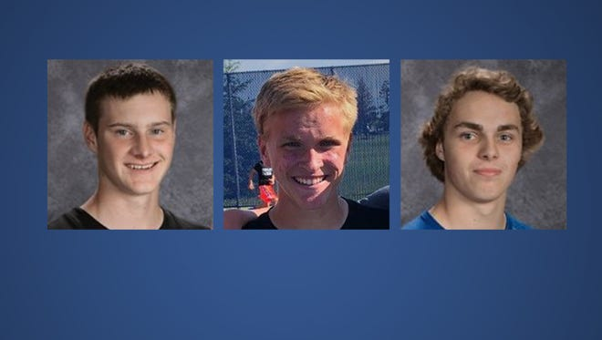 Finalists for Boys Tennis Player of the Year