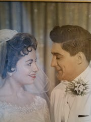 Michael and Gloria Costanzo were married July 28, 1957, in The Bronx, New York.