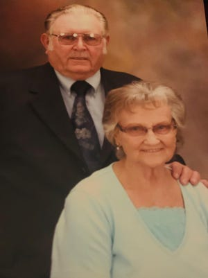 Mr. and Mrs. James A. Booth will be celebrating their 70th wedding anniversary June 10.