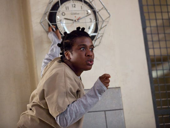 "Uzo Aduba in a scene from Netflix''s ""'Orange Is the"