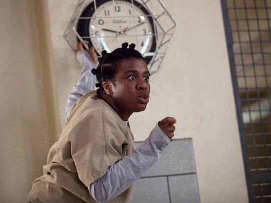 """Uzo Aduba in a scene from Netflix''s """"'Orange Is the"""