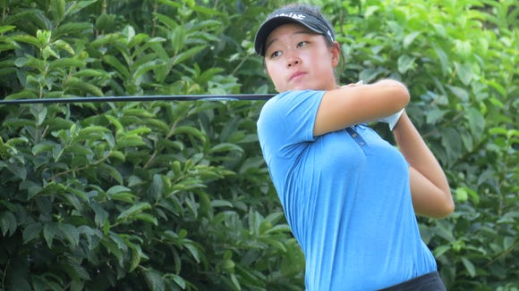 Edgewater's Kelly Sim parred the 17th to win the 92nd New Jersey Women's Amateur Championship, 3 and 1.