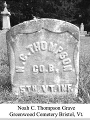 Noah Thompson's grave