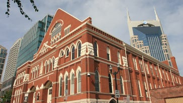 The historic Ryman Auditorium was named Best Entertainment Venue (more than 500) in this year's Toast of Music City Awards.
