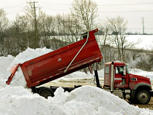 Snow dumping