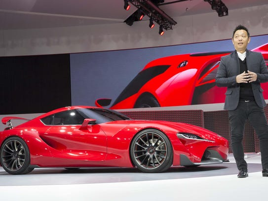 Toyota designer Alex Shen introduces the FT-1 sports