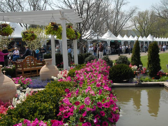 The flower show returns this weekend.