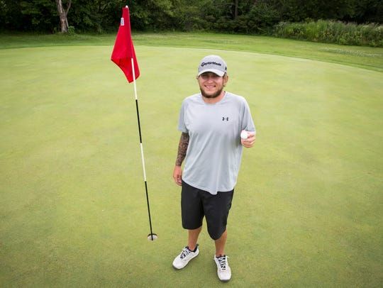 LT Beaty hit two holes-in-one on the Fourth of July