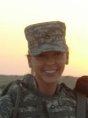 Cassaundra Martinez served in the military from 2005