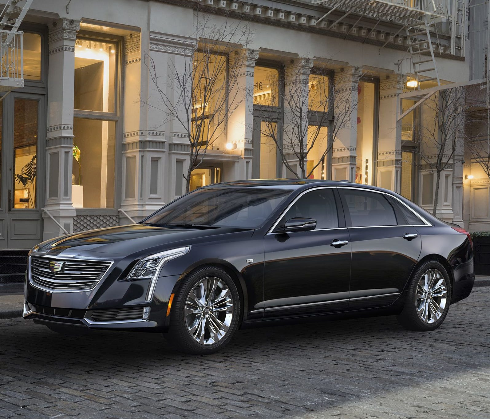 This photo, provided by Cadillac, shows a 2018 Cadillac CT6, which has a semiautonomous driving system called Super Cruise as an available option. Like Autopilot, Super Cruise employs a suite of external sensors and cameras. Then it adds a subsystem