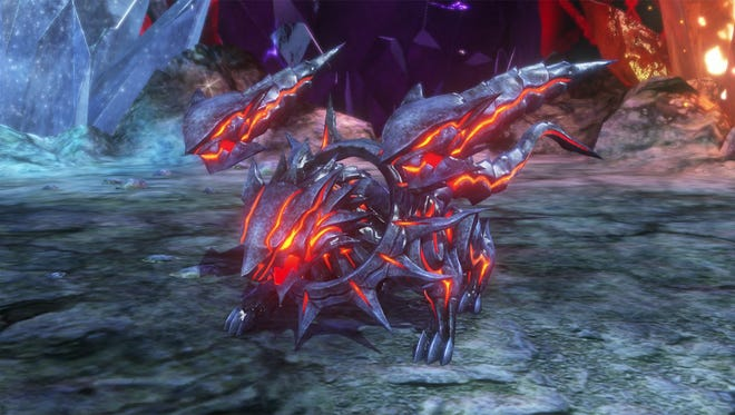 """The Cerberus Mirage is a summon monster in """"World of Final Fantasy."""""""