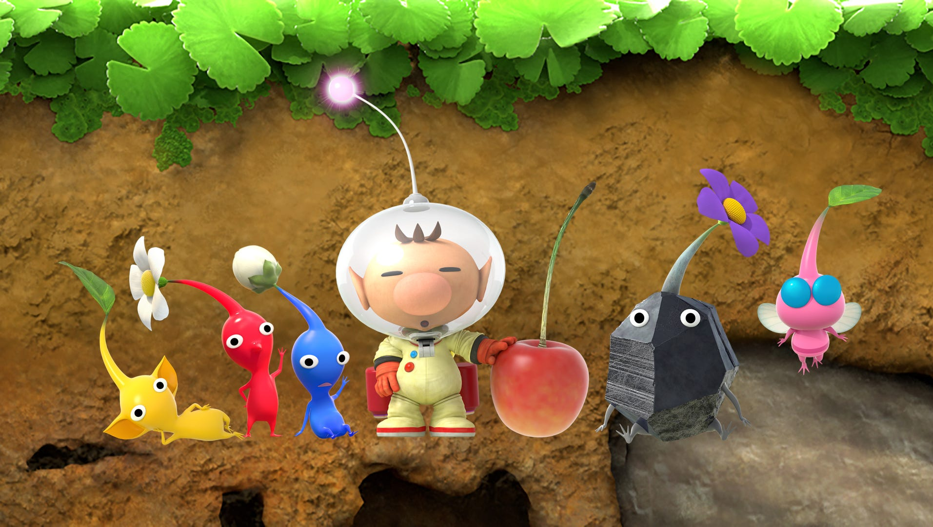 Hey Pikmin Review Captain Olimar Goes 2d Technobubble