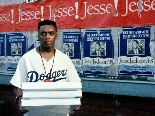 "Spike Lee from his 1989 movie ""Do The Right Thing."""