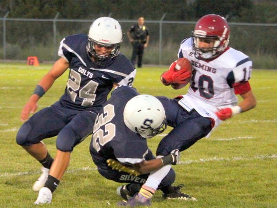 Silver's defense tried to keep Deming's passing game