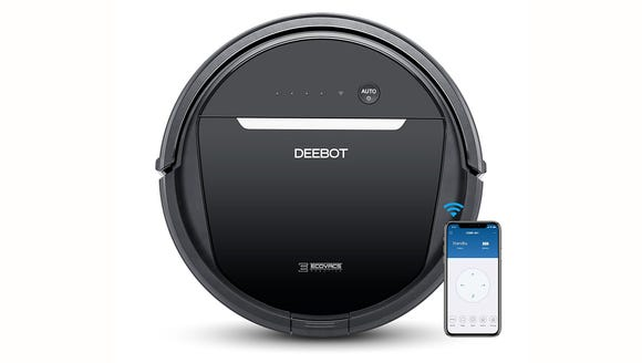 Hire a robot to vacuum and mop for you.