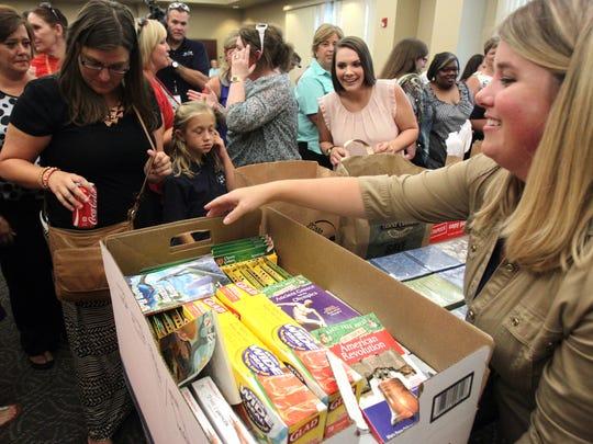Acadiana teachers collecting Adopt-a-Teacher supplies