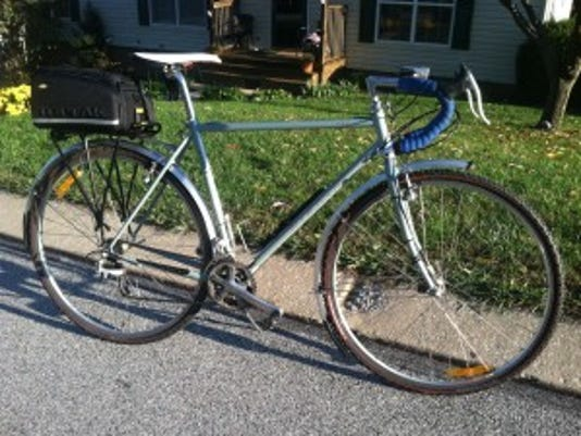 Evans Rohrbaugh of Dallastown shares a photo of his commuter bike.