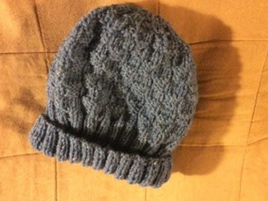 Here's my first hat for Ruth. The second one is already on my needles.