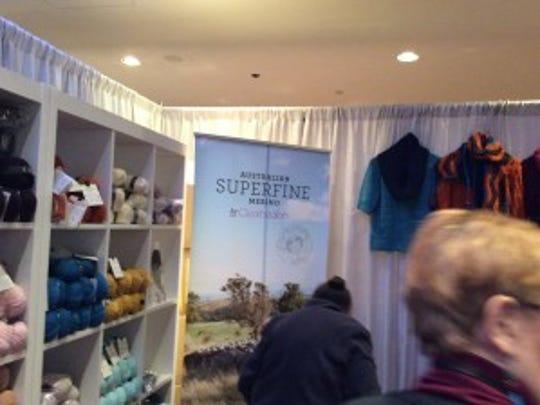 Superfine Merino from Australia at Vogue Knitting Live