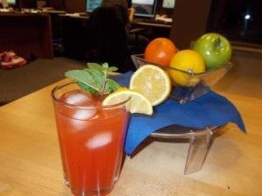 """Healthful chilled drinks including """"Fever Bustin' Punch"""" can help fight colds, fever."""
