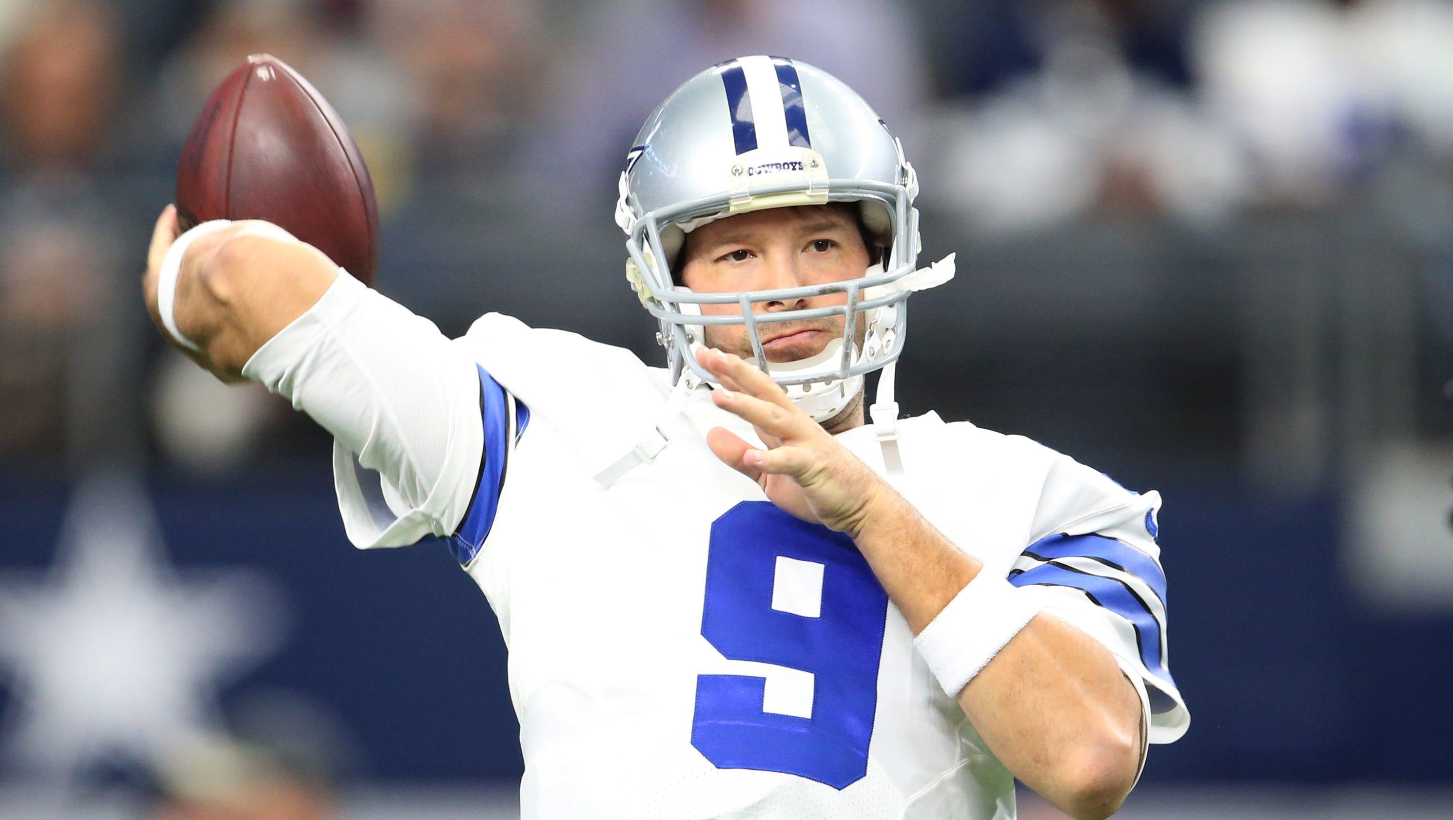 Friday NFL buzz: Cowboys will reportedly play Tony Romo on Sunday