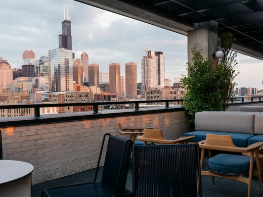 Rooftop bars at hotels are the place to be this summer for Ace hotel brooklyn