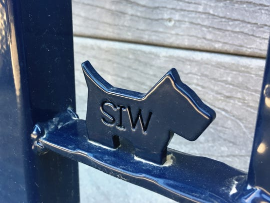 The Scottie has become the signature of Specialty Iron Works and even inspired owner Steve Benjamin to adopt a Scottie dog.