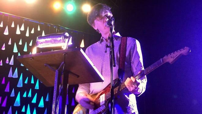 Thurston Moore performs Saturday at the Fountain Square Theatre.