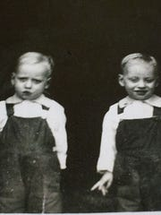 John Anderson was born in 1917 with twin brother, Delbert