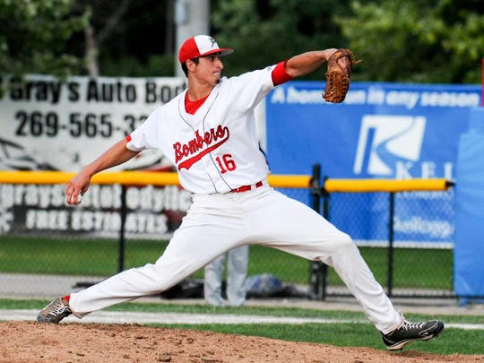 Jacob Waguespack will represent the Bombers in the Northwoods League All-Star Game.