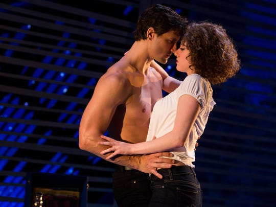 "A scene from ""Dirty Dancing - The Classic Story on Stage."""